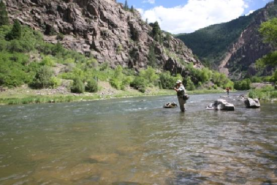 Montrose, Kolorado: Fishing the East Portal at Black Canyon National Park