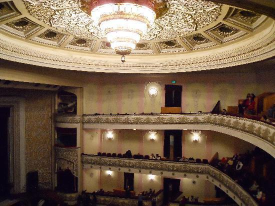 Taškent, Uzbekistan: ナヴォイ・オペラ・バレエ劇場内部