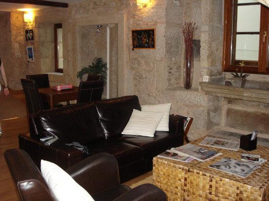 Hotel Alda Algalia: Sala de estar