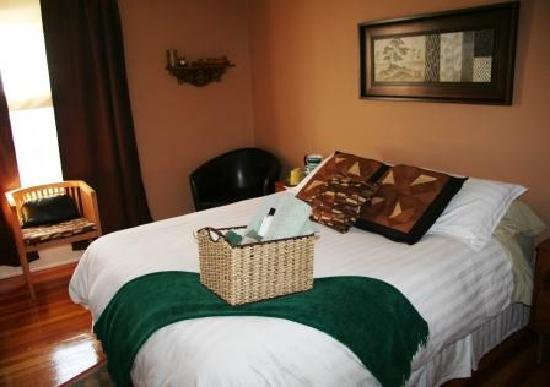 River Wynde Executive Bed and Breakfast: The Earth room- Great value and comfort
