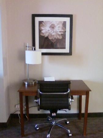 Quality Inn & Suites: Awesome Desk Chair!