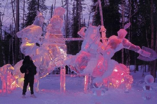 Fairbanks, Αλάσκα: Ice Art