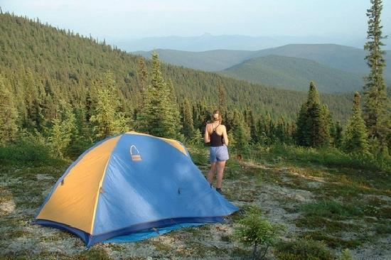 Fairbanks, AK: Camping with a View