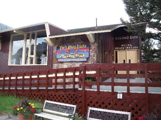 Restaurant And Registration Foto Di Rising Sun Motor Inn