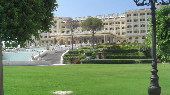 Mardan Palace: L'entrée principale...