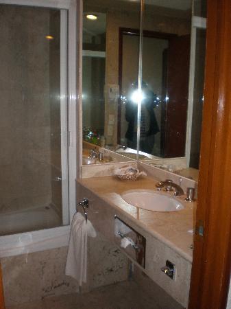 Hotel El Diplomatico: bathroom