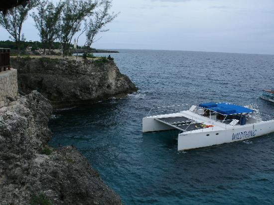 Couples Swept Away: Boat at Ricks Cafe