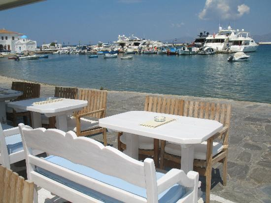 Poseidon Hotel - Suites: The Main Harbor is about a 15-20 min walk