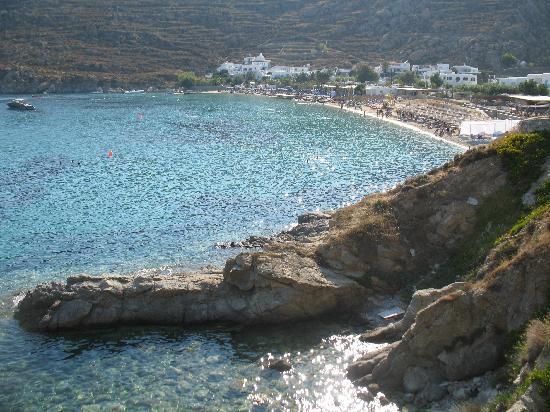 Poseidon Hotel - Suites: Pssarou is mega yacht paradise!