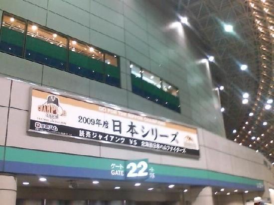 Tokyo Dome: 日本シリーズの盛り上がりはすごい!