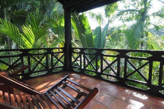 Kafu Resort & Spa: veranda