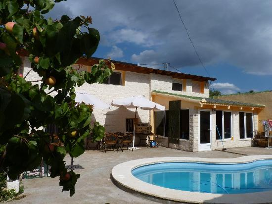 Sax, España: casas tipicas