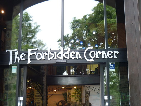 The Forbidden Corner: Enter at your own risk....