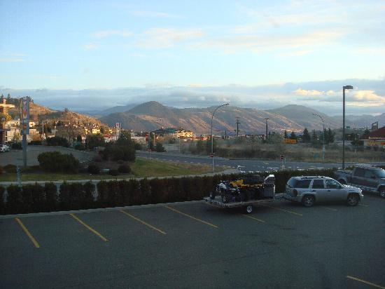 Super 8 Kamloops BC: North East view from Super 8