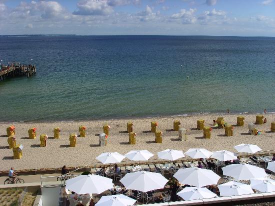 Grand Hotel Seeschlösschen SPA & Golf Resort: Blick auf die See