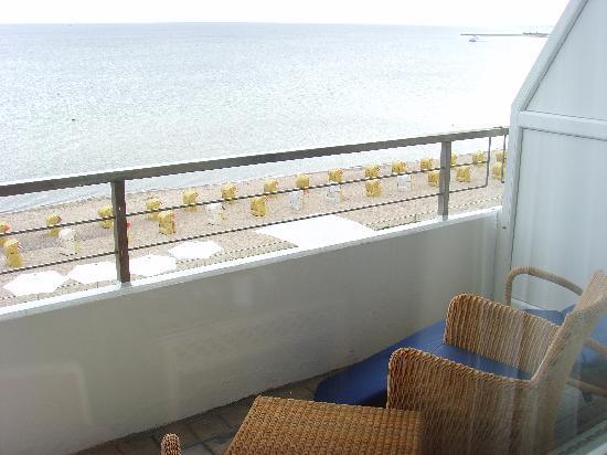 Grand Hotel Seeschlösschen SPA & Golf Resort: Balkon-Blick