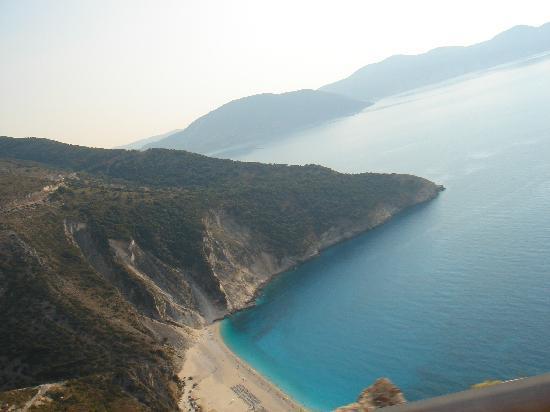 9 Muses Hotel Skala Beach: Myrtos beach