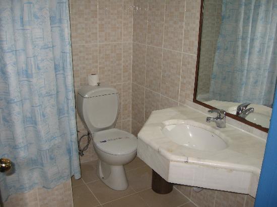 Altinoz Hotel: il bagno