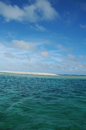 Hatenohama: 渡し船から撮りました