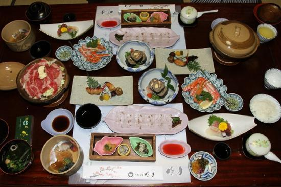 Norennoyado Meigetsu: Our Keiseki meal