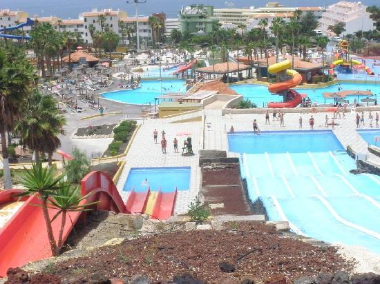 Aqualand Costa Adeje : Vue du parc