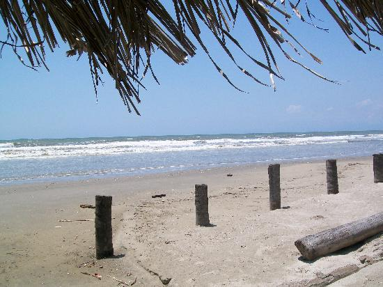 Posada Eneri : Spiaggia antistante