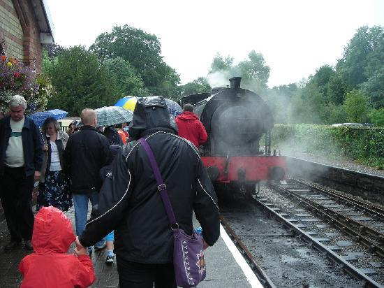 Bowness-on-Windermere, UK: The Heritage Steam Train