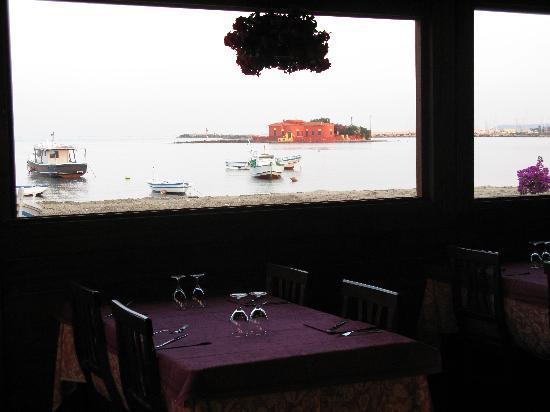 La Nassa: terrazza sul mare ristorante