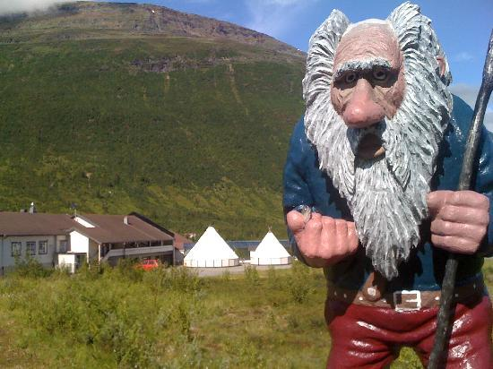 Welcome Inn Hotel Lyngskroa: Trolls of Lyngen