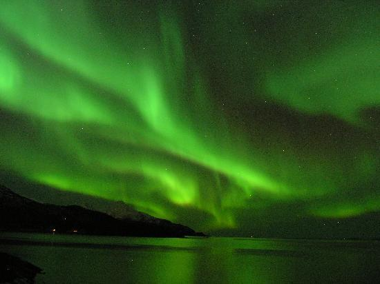 Welcome Inn Hotel Lyngskroa: Good area for the Northern Lights