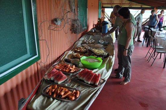 Fazenda Sanjo : das Buffet