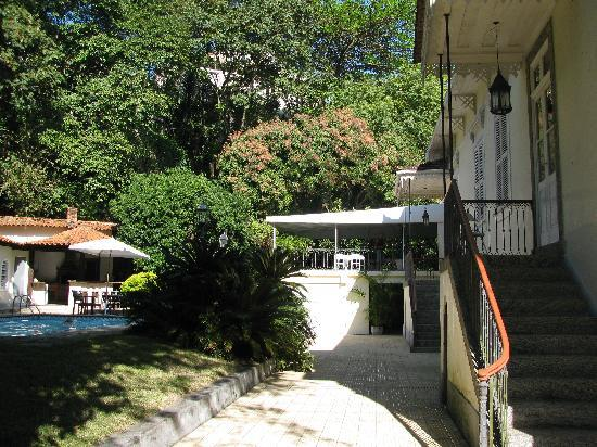 Entrance of Villa Laurinda