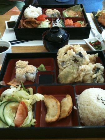 Tenkaichi Sushi & Noodle Bar: Bento boxes