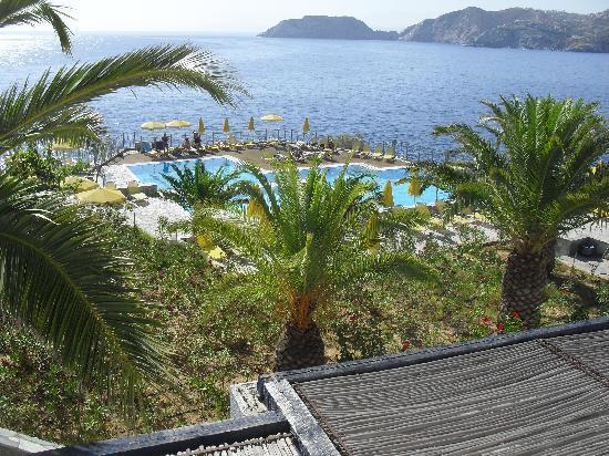 Peninsula Resort & Spa : vu de la terrasse