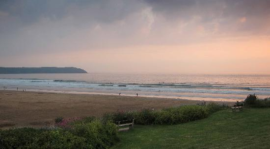 Sandunes Guesthouse : Evening on Woolacombe beach