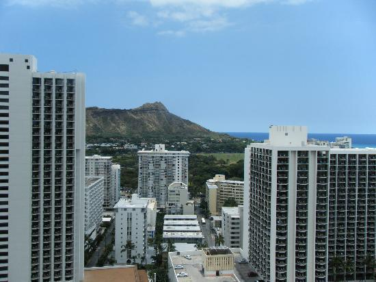 Alohilani Resort Waikiki Beach: 部屋からの景色