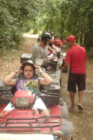 Luquillo, Puerto Rico: our ATV group