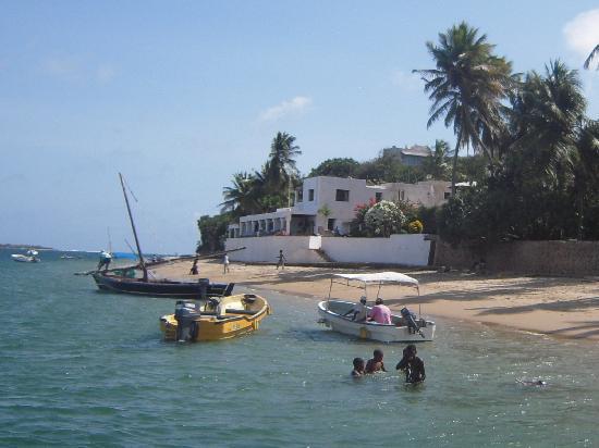 Lamu Island, Kenya: Lunch