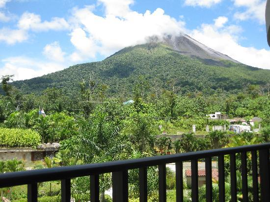 The Royal Corin Thermal Water Spa & Resort: View of Arenal from balcony