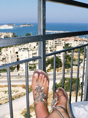 Ozka Hotel: View from balcony