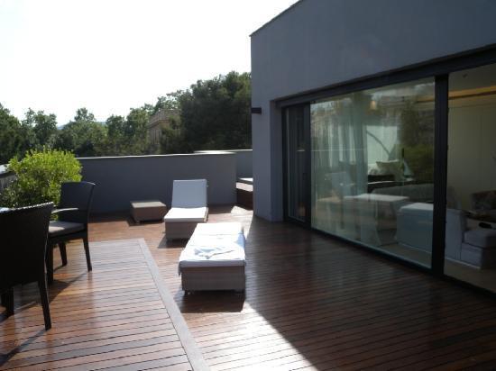 ABaC Barcelona: Attic Suite