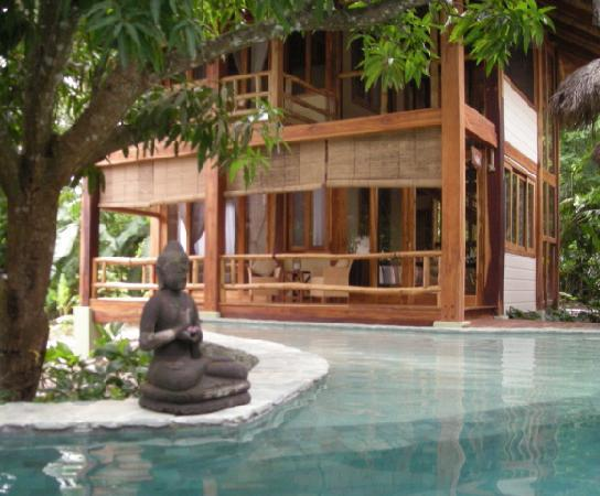 Pranamar Villas and Yoga Retreat: Pool and villa