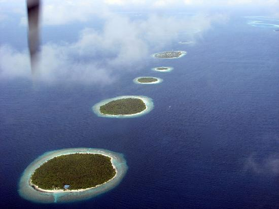 Kuredu : Maldives from the air