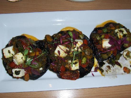 Green Olive Restaurant : Delicious mushrooms