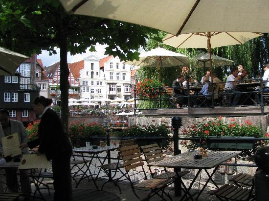 Luneburg, Alemania: Aussengastronomie