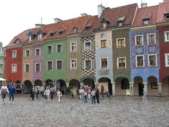 Sheraton Poznan Hotel: Posnan main square