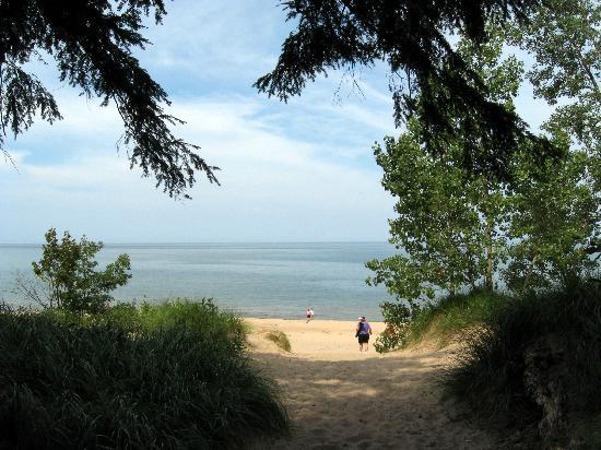 Saugatuck Dunes Park Beach