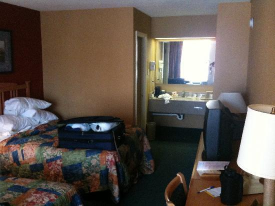 Days Inn San Antonio Alamo/riverwalk: My room