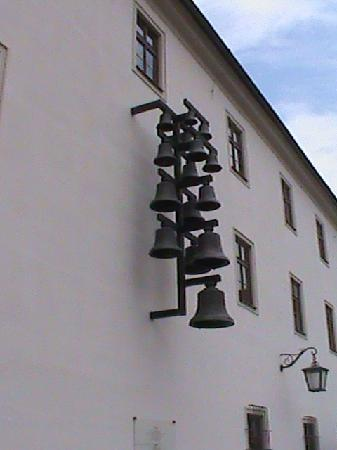 Brno, Czech Republic: The bells in the castle