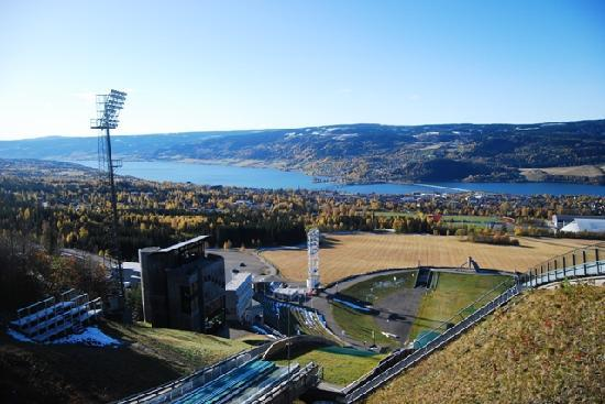 Lillehammer, Norvège : Stunning view of Lillihammer and fjord
